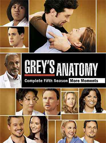 GREY'S ANATOMY:SEASON 5 BY GREY'S ANATOMY (DVD) [7 DISCS] -